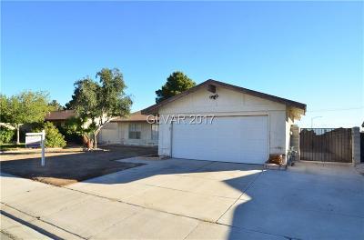 Las Vegas NV Single Family Home For Sale: $209,000