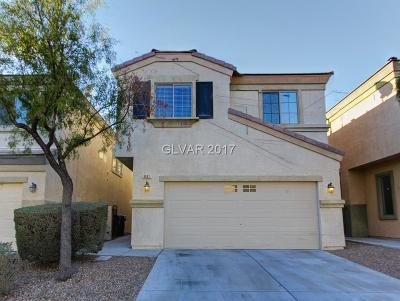 Las Vegas Single Family Home For Sale: 6441 Butterfly Sky Street