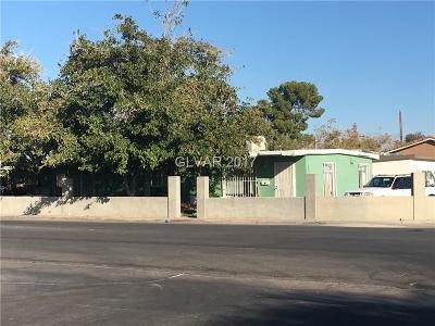 Las Vegas Single Family Home Contingent Offer: 2129 Oakey Boulevard