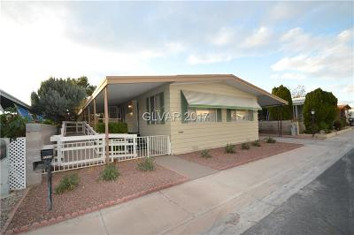 Las Vegas Manufactured Home Contingent Offer: 3529 Gulf Shores Drive