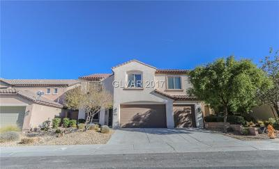 Henderson Single Family Home Contingent Offer: 2576 Calanques Terrace