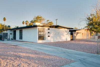 North Las Vegas Single Family Home For Sale: 1920 Statz Street