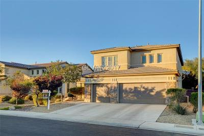 North Las Vegas Single Family Home For Sale: 1920 Bluff Knoll Court
