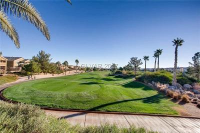 Las Vegas Single Family Home For Sale: 604 Over Par Court