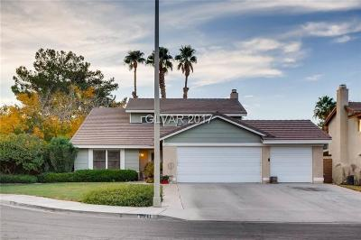 Henderson Single Family Home Contingent Offer: 2341 Red Willow Lane