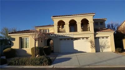 Single Family Home For Sale: 7148 Horseshoe Cliff Avenue