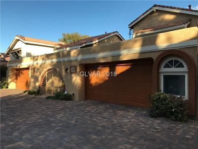 Las Vegas Cntry Club Fairway E, Las Vegas Cntry Club Garden Ho, Las Vegas Cntry Club Villas #1 Single Family Home For Sale: 3044 Bel Air Drive