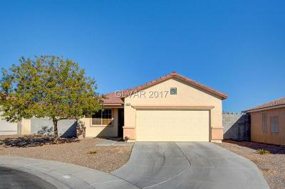 North Las Vegas Single Family Home Contingent Offer: 3216 Standing Bear Court