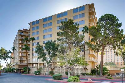 Las Vegas, North Las Vegas High Rise For Sale: 205 Harmon Avenue #711