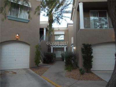 Las Vegas Condo/Townhouse For Sale: 9420 San Laguna Court #105