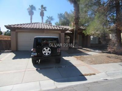 Blue Diamond, Boulder City, Henderson, Las Vegas, North Las Vegas, Pahrump Single Family Home For Sale: 2497 Swan Ridge Avenue