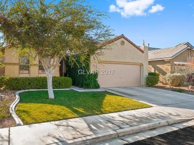 Henderson Single Family Home Contingent Offer: 2411 Allegretto Avenue