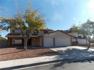 Las Vegas Single Family Home For Sale: 5212 Jana Court