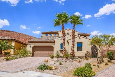 Henderson Single Family Home For Sale: 58 Portezza Drive