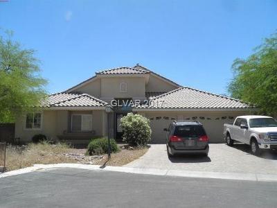 Las Vegas Single Family Home For Sale: 5101 Honey Ginger Avenue