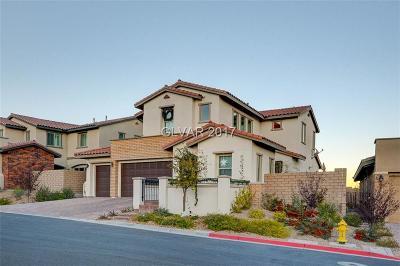 Las Vegas Single Family Home For Sale: 306 Castellari Drive