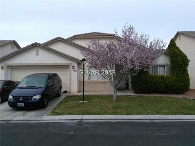 North Las Vegas NV Single Family Home For Sale: $219,999