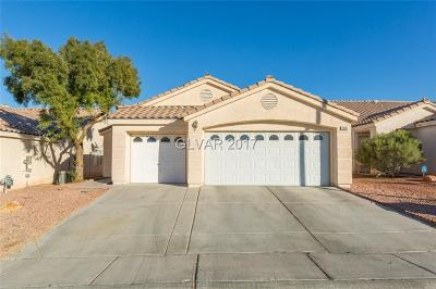 North Las Vegas Single Family Home For Sale: 3408 Outlook Point Street