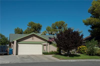 Single Family Home Contingent Offer: 4551 Green Canyon Drive