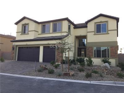 Las Vegas Single Family Home For Sale: 3962 Jacob Lake Circle #LOT 3004