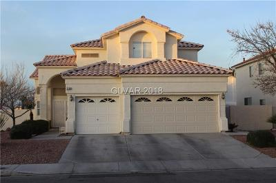 Las Vegas Single Family Home For Sale: 2154 Lipari Court