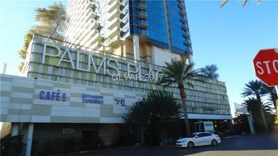 Palms Place A Resort Condo & S High Rise For Sale: 4381 Flamingo Road #3705