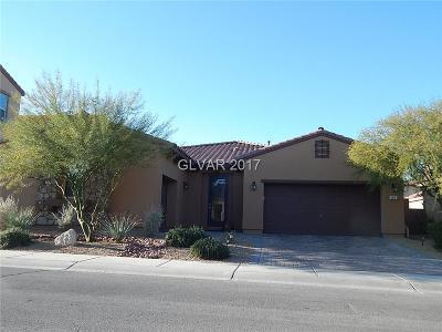Clark County Single Family Home For Sale: 485 Punto Vallata Drive
