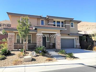 Las Vegas Single Family Home For Sale: 5583 Oak Bend Drive