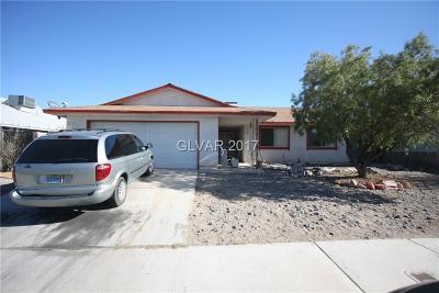 Blue Diamond, Boulder City, Henderson, Las Vegas, North Las Vegas, Pahrump Single Family Home For Sale: 205 Steeler Drive
