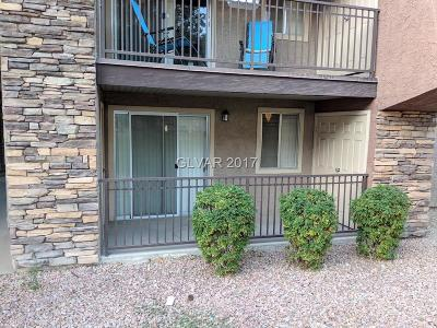 Henderson, Las Vegas Condo/Townhouse For Sale: 5295 Indian River Drive #315