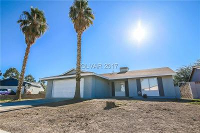 Las Vegas Single Family Home For Sale: 4925 Clear Creek Road