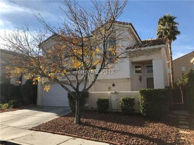 Las Vegas Single Family Home For Sale: 2029 Nightrider Drive