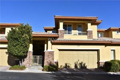 Las Vegas Condo/Townhouse For Sale: 11280 Granite Ridge Drive #1043