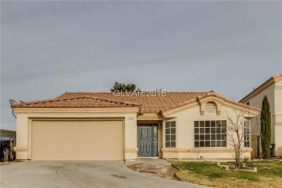 North Las Vegas Single Family Home For Sale: 5246 Olive Dale Court