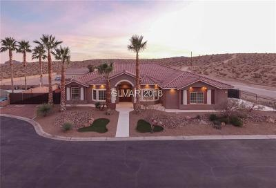 Las Vegas Single Family Home For Sale: 8850 Kulka Road
