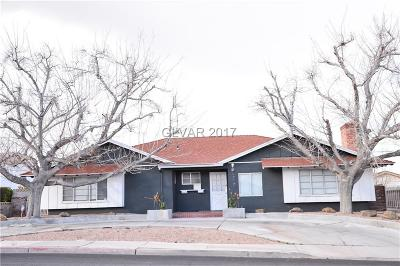 Las Vegas Single Family Home For Sale: 1717 Oakey Boulevard