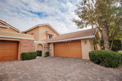 Las Vegas Cntry Club Fairway E, Las Vegas Cntry Club Garden Ho, Las Vegas Cntry Club Villas #1 Single Family Home For Sale: 2994 Bel Air Drive