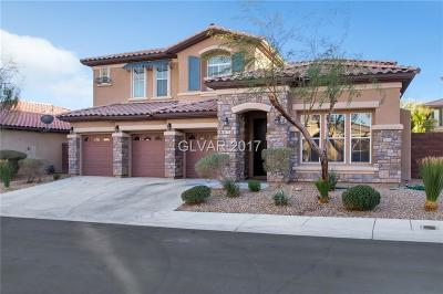 Las Vegas Single Family Home Contingent Offer: 8477 Benicasim Court