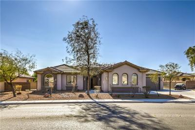 North Las Vegas Single Family Home For Sale: 3807 Hammer Lane