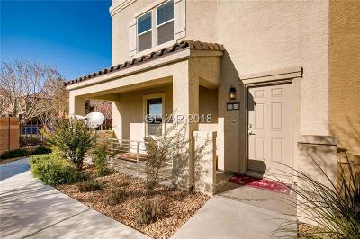 North Las Vegas Condo/Townhouse For Sale: 4650 Ranch House Road #5