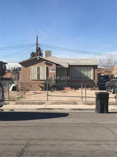 North Las Vegas Multi Family Home For Sale: 1825 Stanford Street
