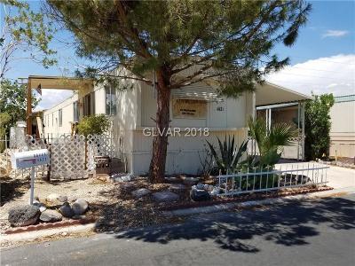 Las Vegas Manufactured Home For Sale: 4621 Royal Ridge Boulevard