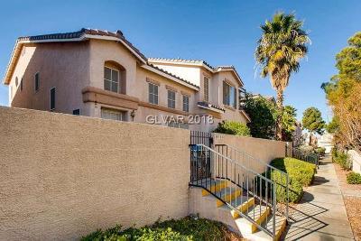 Las Vegas Condo/Townhouse Contingent Offer: 9584 Belle Esprit Street