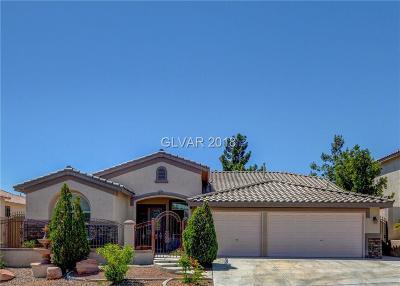 Las Vegas Single Family Home For Sale: 7861 Darby Avenue