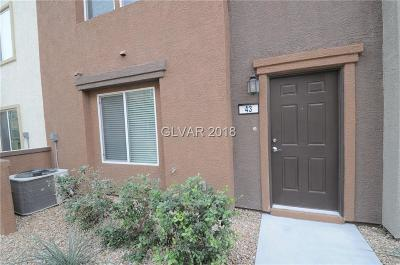 North Las Vegas Condo/Townhouse Contingent Offer: 4650 Ranch House Road #43