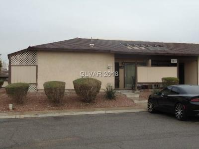 North Las Vegas Condo/Townhouse Contingent Offer: 3017 St George Street #A