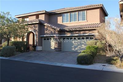 Las Vegas Single Family Home For Sale: 7950 South Marker Head Drive