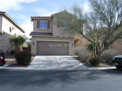 North Las Vegas Single Family Home For Sale: 6928 Water Pipit Street