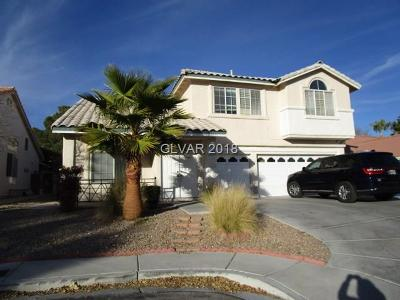 Las Vegas  Single Family Home For Sale: 9754 Cornwall Crossing Lane
