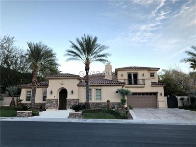 Las Vegas Single Family Home For Sale: 2890 Red Arrow Drive